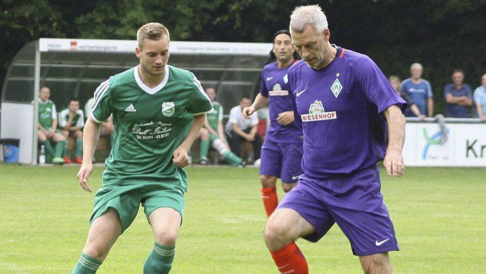 Werder-Altstars siegen 3:1 bei einem gut aufgelegten TSV Ristedt