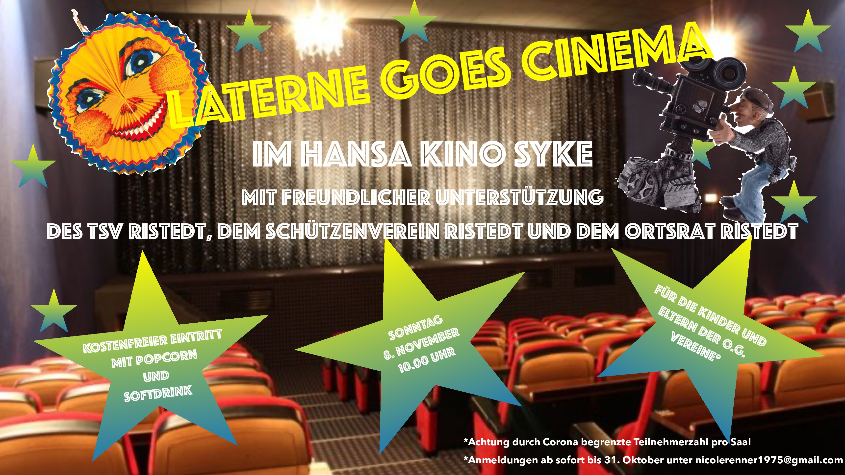 Laterne goes cinema