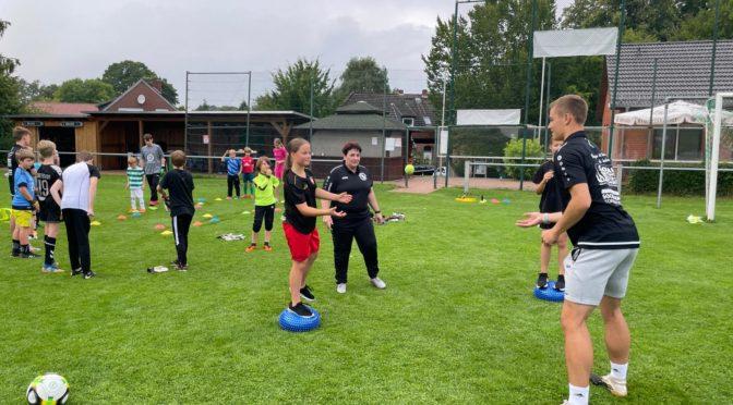 Ferienspaß mit den Soccer-Goalies