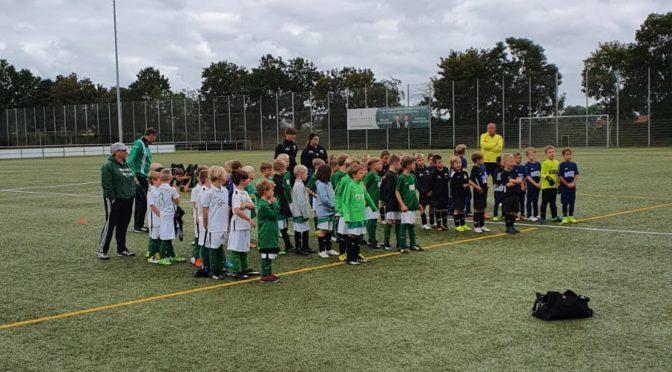 2. Turnier der F Jugend in Sudweyhe